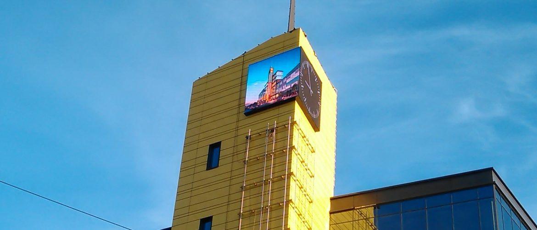 Наружные светодиодные экраны