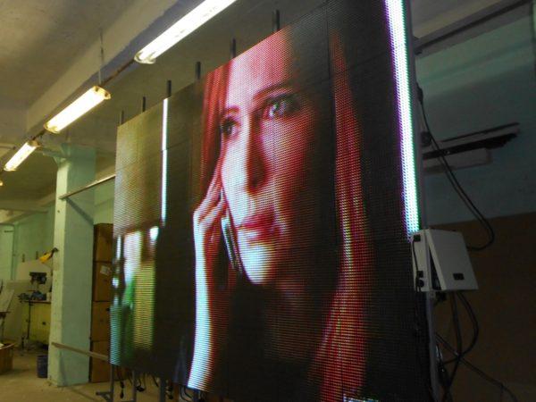 производство светодиодных экранов СПб