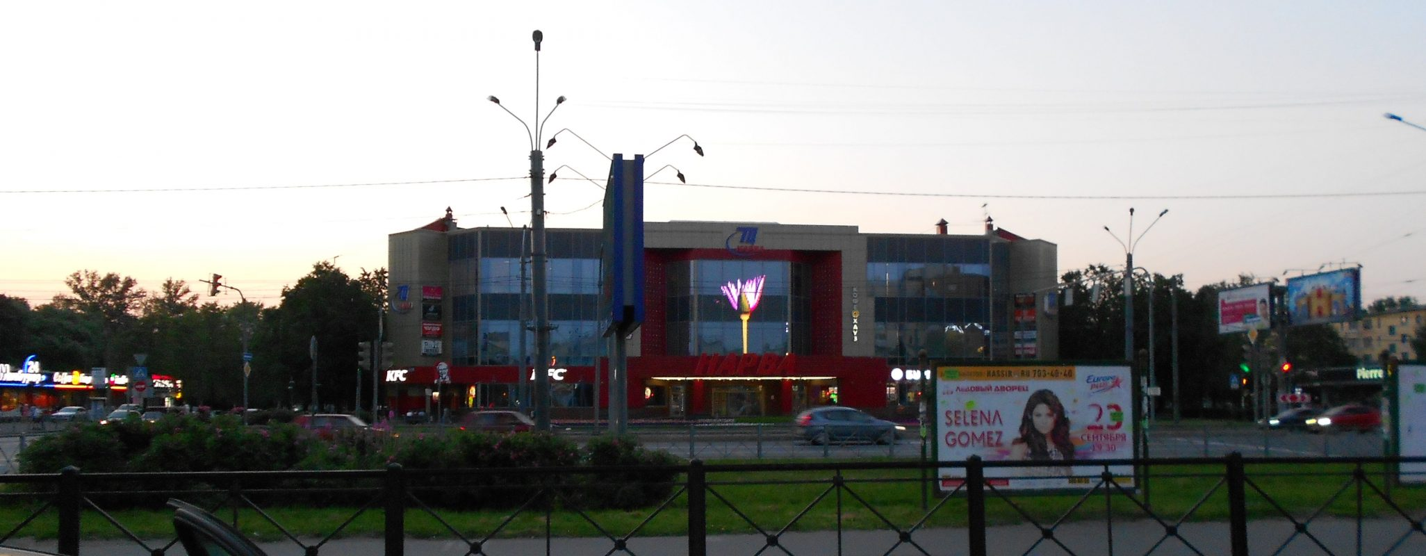Медиафасады в Санкт-Петербурге